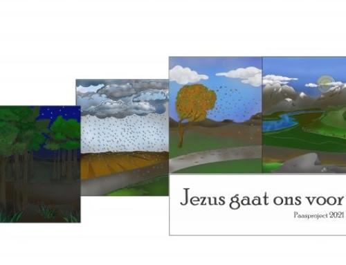 Paasproject: Jezus gaat ons voor (leesrooster)
